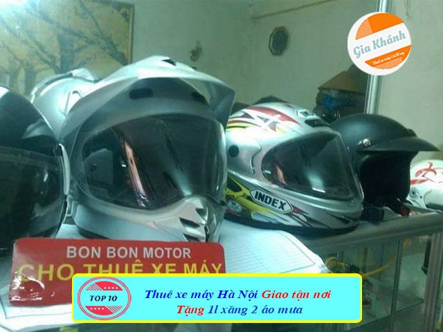 Cho thuê xe máy thanh xuân hà nội Bon Bon motor