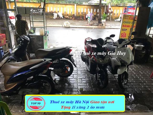 Thuê xe máy tại Ga Hà Nội