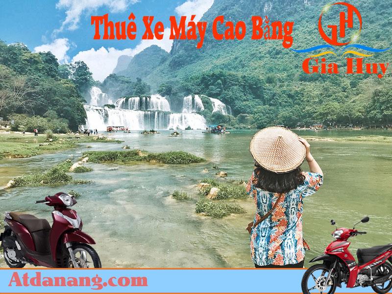 Thuê xe máy Cao Bằng