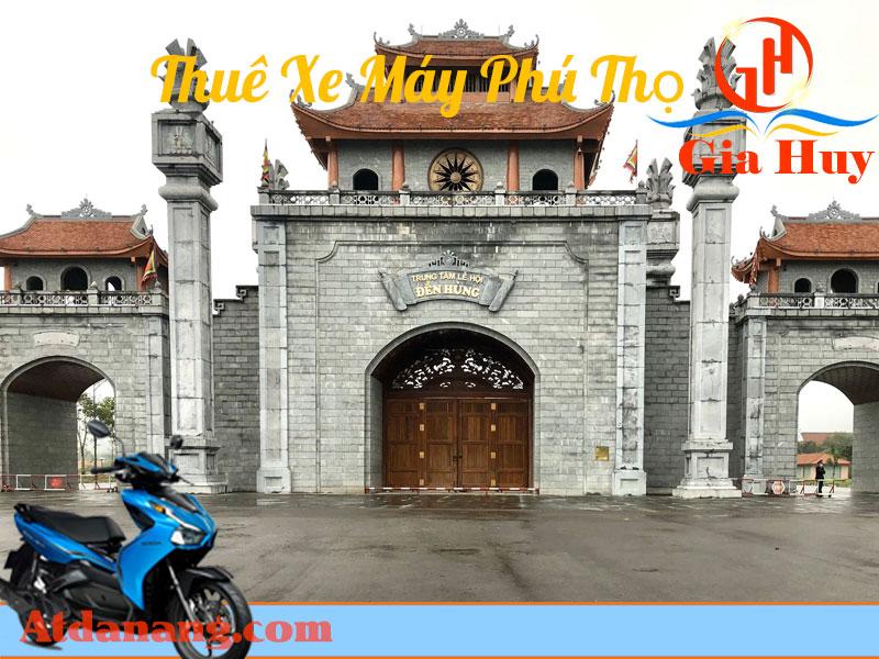 thuê xe máy Phú Thọ