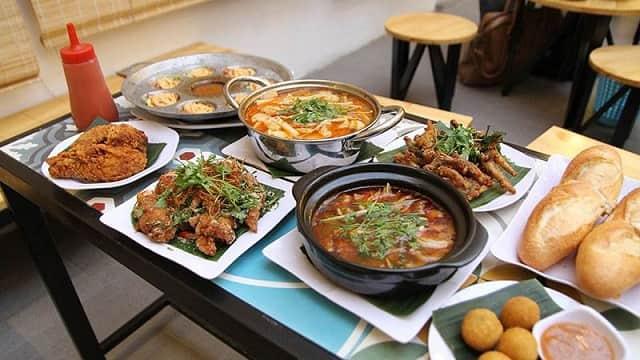 top 10 quán ăn vặt Đà Nẵng
