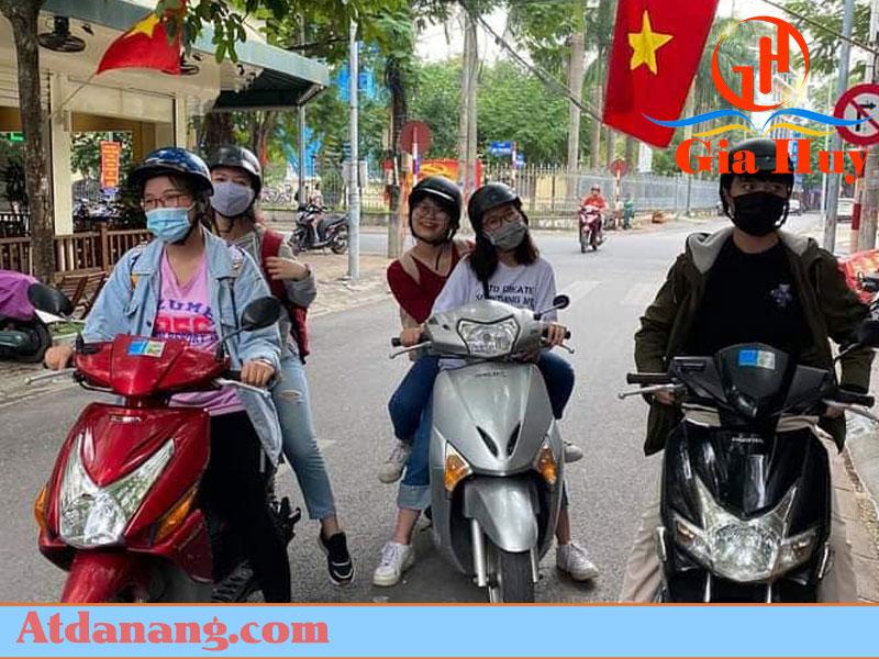 Cho thuê xe máy ở Hải Dương - Hương Nguyên