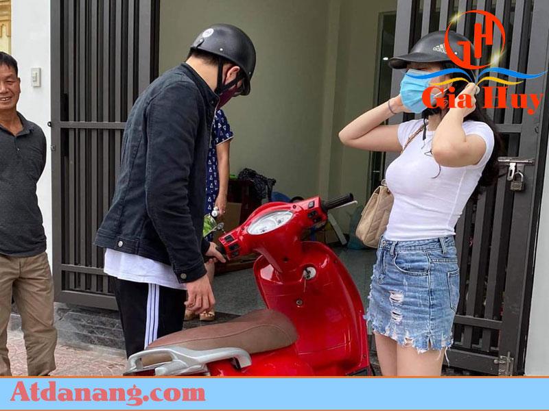 Thuê xe máy giao tận nơi - Hà Thanh