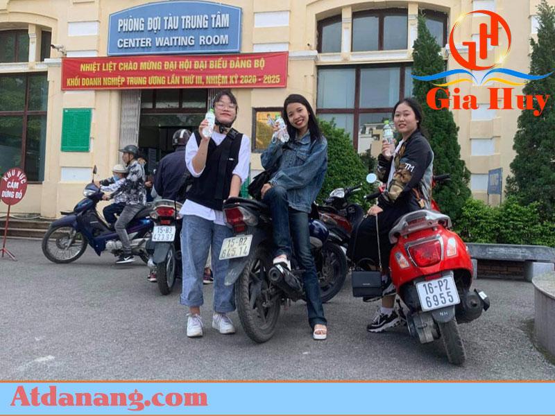 Thuê xe máy không cần đặt cọc - Thanh Bình