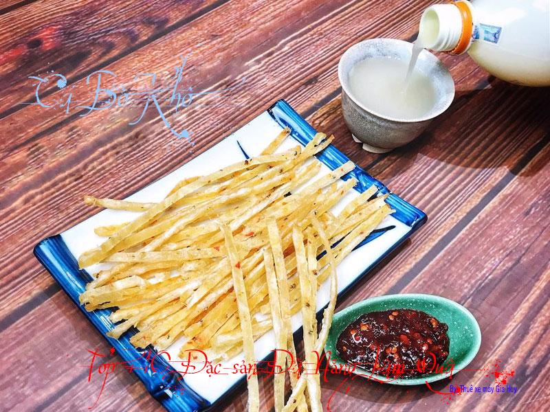 Cá bò khô rim Cá Bò và mực là top đặc sản được khách du lịch ưa chuộng nhất mỗi khi đến Đà Nẵng. Là đặc sản làm qu