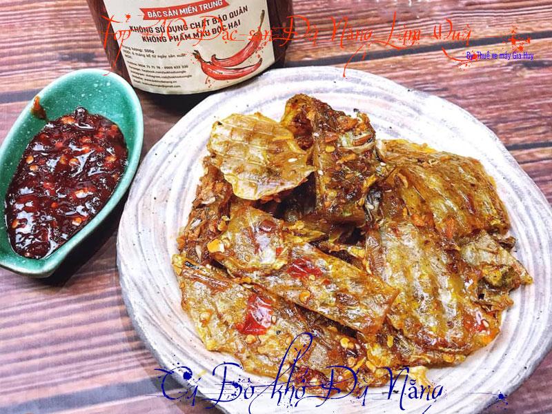 Cá bò tẩm sống Đà Nẵng Cá bò tẩm sống Đà Nẵng (đặc biệt) là loại cábò được chế biến bằng cách phơi khô