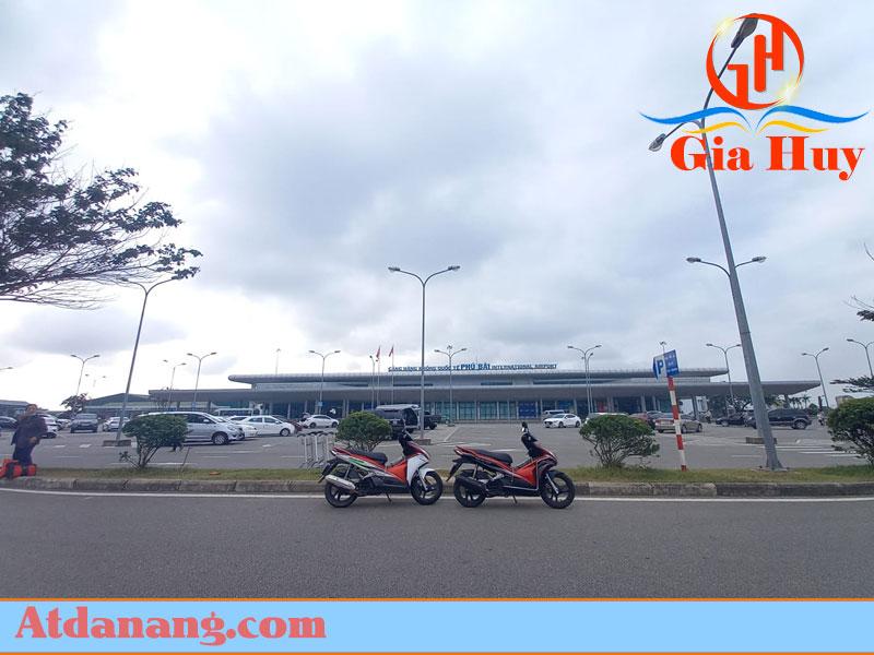 Thuê xe máy gần sân bay Phú Bài – Đồng Xanh Motorbike Retal