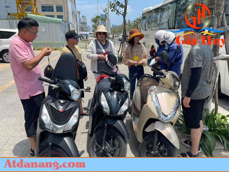 Thuê xe máy uy tín ở Huế - Anh Cường