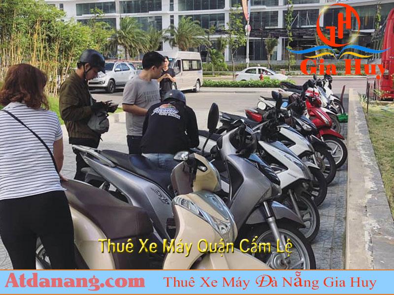 Thuê xe máy quận cẩm lệ đà nẵng