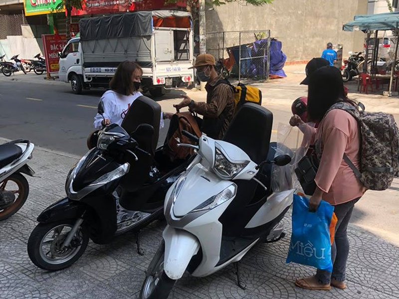 Thuê xe máy ở Đà Nẵng Quận Hải Châu Gia Huy giá rẻ uy tín chất lượng đảm bảo