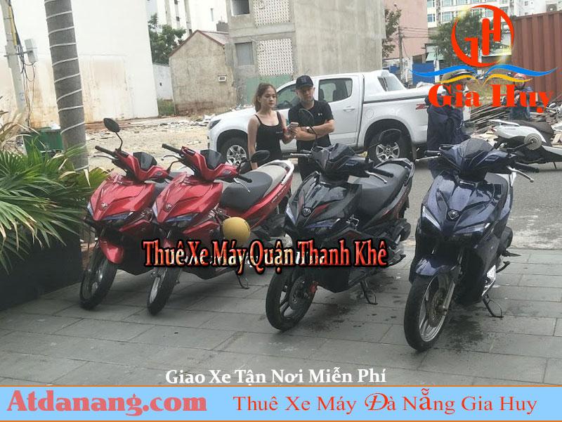 Thuê xe máy quận thanh khê đà nẵng gia huy