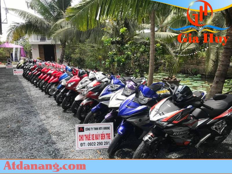 Dịch vụ cho thuê xe máy tại Bến Tre 0932290291