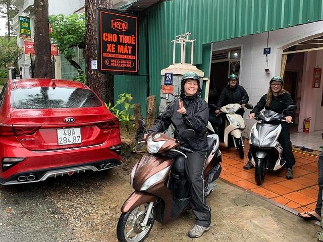 Thuê xe máy gần hồ Tuyền Lâm Đà Lạt - Mr Din