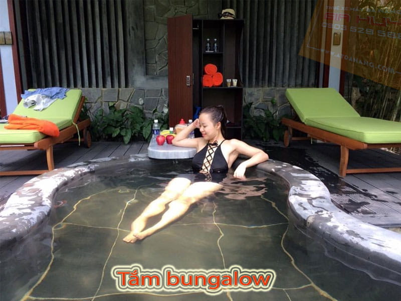 Tắm bungalow