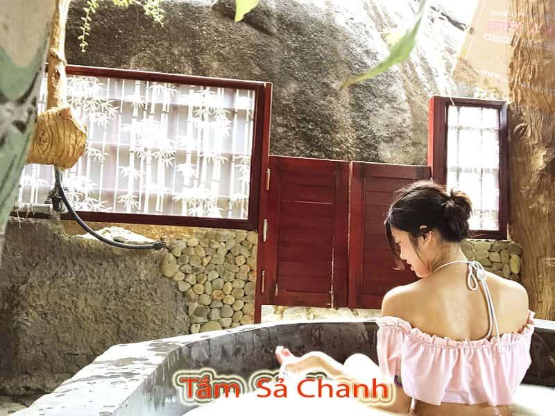 Tắm Sả Chanh