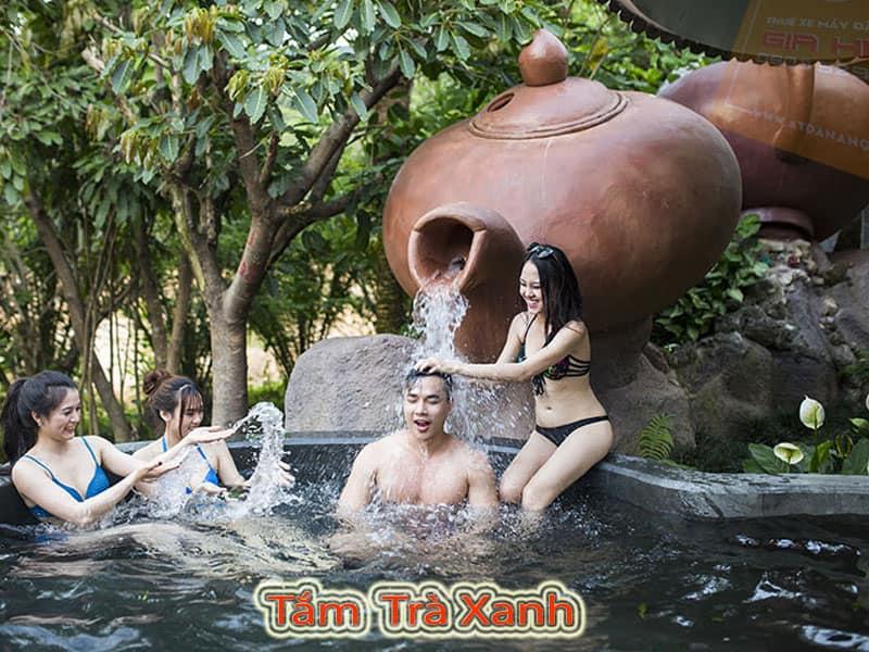 Tắm Trà Xanh