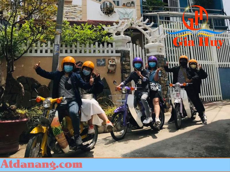 Thuê xe cub 50 ở Đà Lạt
