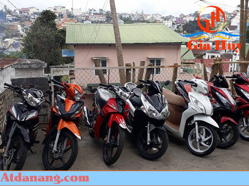 thuê xe máy đà lạt Anh Vũ