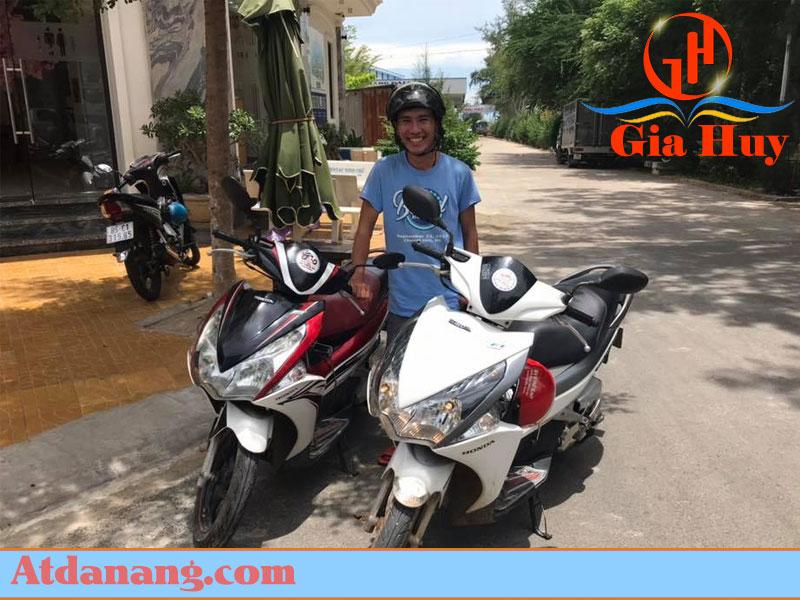 Thuê xe máy quảng ngãi Minh Phương