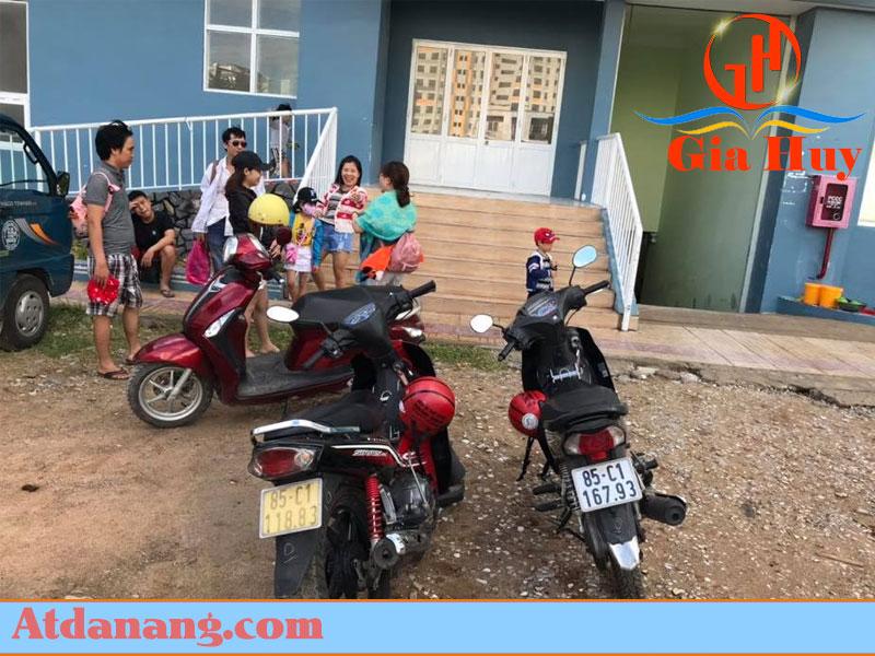 Thuê xe máy quảng ngãi Lê Trần