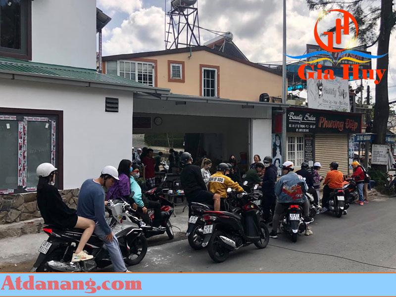 Thuê xe máy Đà Lạt - moto a3 go