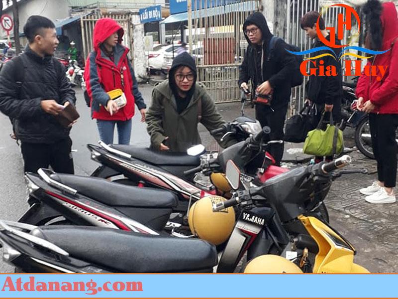 Thuê xe máy Mường Nhé - Phương Dung