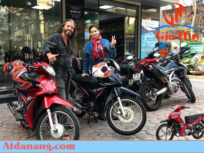 Thuê xe máy Quận Ba Đình