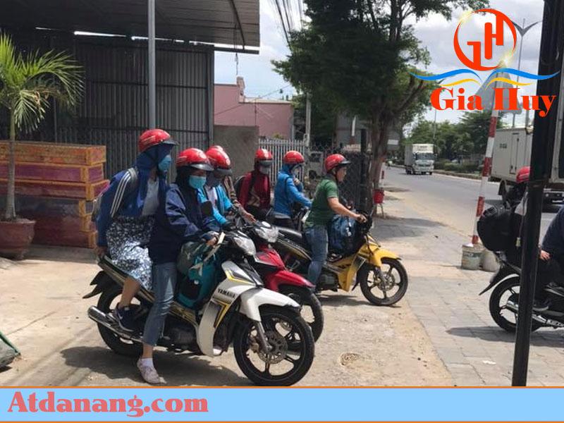 Thuê xe máy ở Biển Mỹ Khê Quảng Ngãi