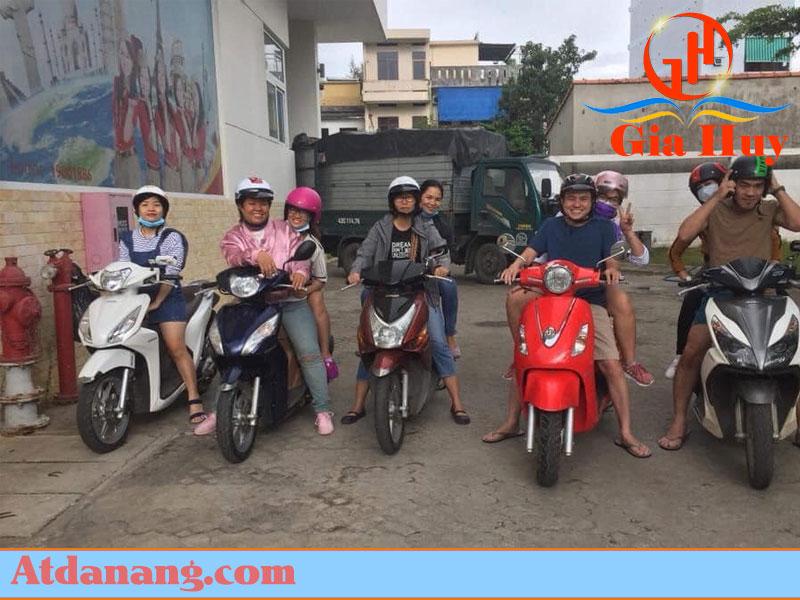 Thuê xe máy uy tín Ms Nở