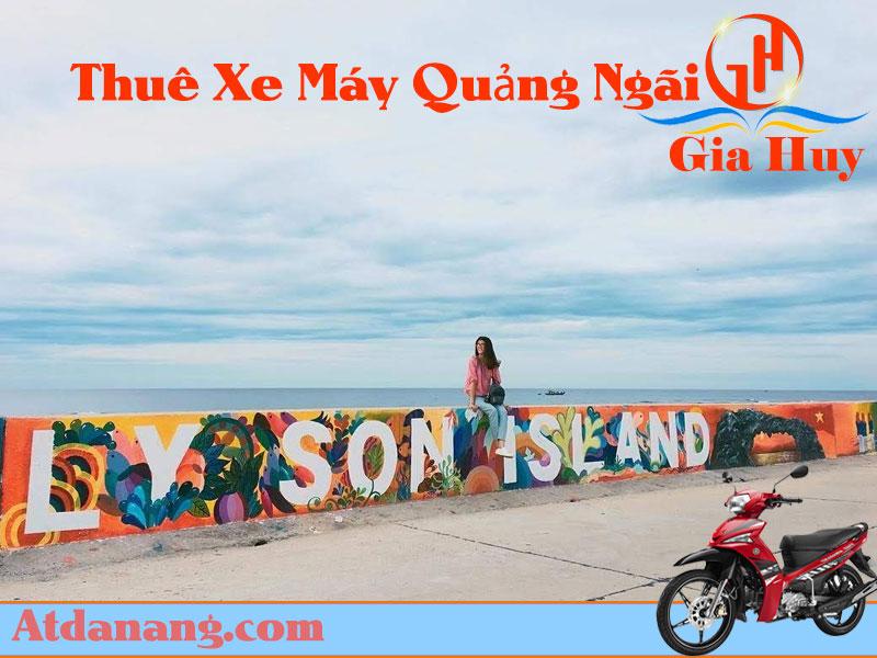 Thuê xe máy Quảng Ngãi