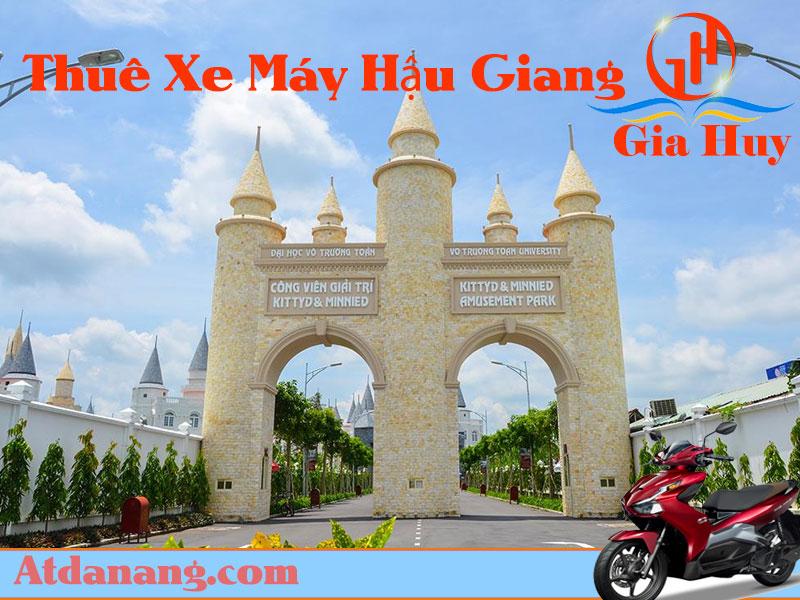 Thuê xe máy Vị Thanh Hậu Giang